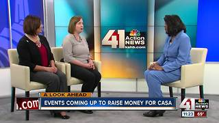 Events coming up to raise money for CASA - Video
