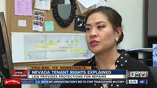 Tenant rights: How to hold Nevada landlord accountable - Video