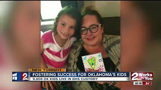 Broken Arrow family hopes foster care success story will encourage others to open their homes - Video
