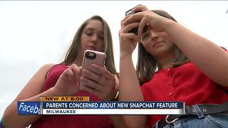New Snapchat feature raises concerns for Summerfest attendees - Video
