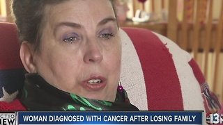Woman faces tough choice: Chemo, or rent? - Video