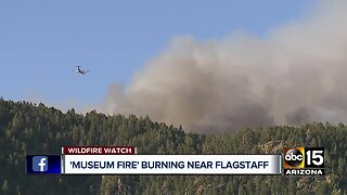 Museum fire ignites north of Flagstaff