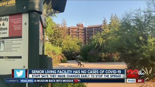 Bakersfield nursing home facility shares how they've been able to stay covid free