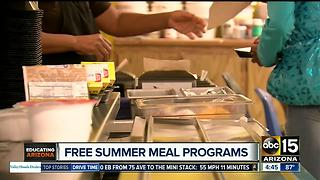 Queen Creek School District feeds hundreds with free summer program - Video