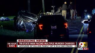 Man charged after fatal crash - Video
