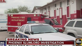Officials investigating slumlord situation in Phoenix - Video