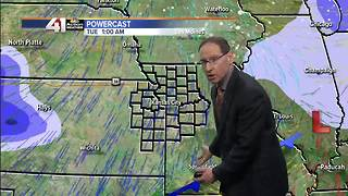 Jeff Penner Sunday Midday Forecast Update 2 4 18 - Video