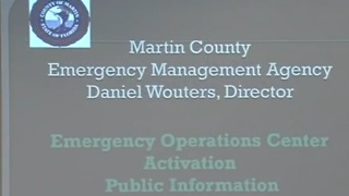 Emergency management monitoring Hurricane Irma - Video