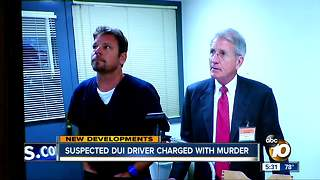 Suspected DUI driver charged with murder - Video