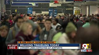 Millions traveling Friday - Video