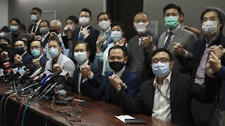 Hong Kong Pro-Democracy Lawmakers To Resign