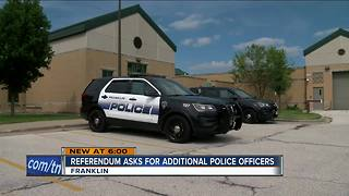 Taxpayers asked to pay for 3 more police officers