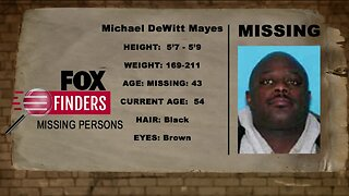 FOX Finders Missing Persons: Michael DeWitt Mayes