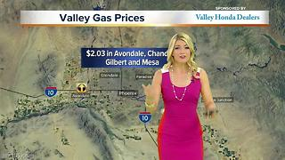 Gas below $1.99 in some areas of Valley - Video