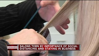 Salon employees worry about money, safety in wake of COVID-19