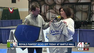 Royals FanFest kicks off Friday at Bartle Hall