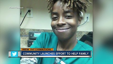 Leaders work together to help the family of the St. Petersburg mother killed by a stray bullet
