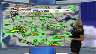 Breezy Winds and Scattered Showers - Video