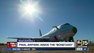 Tracking Trierweiler: Take a look inside what happens at the Pinal Airpark - Video