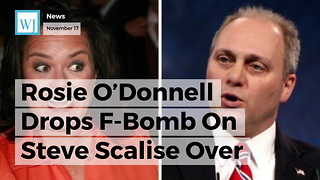 Rosie O'Donnell Drops F-Bomb On Steve Scalise Over Tax Reform, His Response Is Pure Class - Video