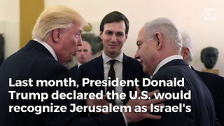 Trump Unveils Plan for U.S. Embassy in Jerusalem - Video