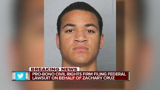 Lawsuit: Zachary Cruz was tortured, his constitutional rights were violated - Video