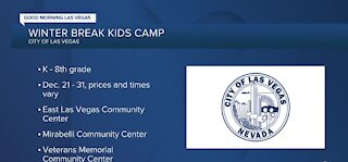 Winter Break Kids Camp registration now open