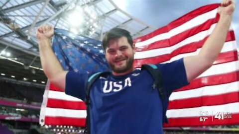 Overland Park discus thrower working to return to the Olympics