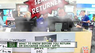 What to know before you return or exchange holiday gifts