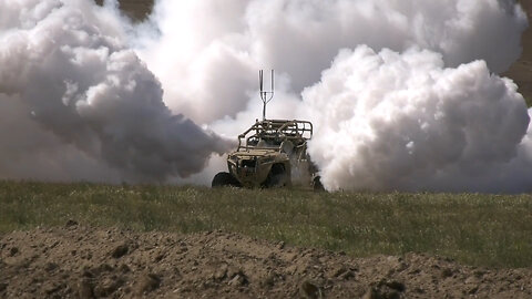 U.S. Army Testing New System That Billows Out Smoke To Obscure Troop Movements