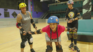 Roller Derby Battle in Miami
