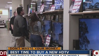 Best time to buy a new HDTV - Video