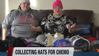 Treasure Valley woman collecting hats for  cancer patients - Video