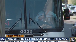 MTA offering free rides on Commuter Bus #425 - Video