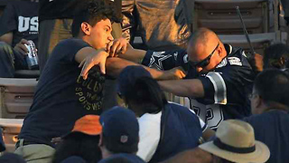 FIGHT Breaks Out Between Rams & Cowboys Fans During Preseason Game