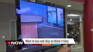 What to buy and skip on Black Friday - Video