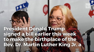 Mlk's Niece Just Revealed Why She Is Thankful To President Trump - Video