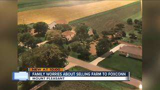 Mount Pleasant family could lose century-old farm to Foxconn - Video