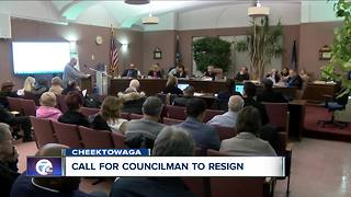 Continuing calls for councilman to resign - Video