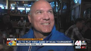 Fans flock to Johnny's Tavern for NCAA Tournament - Video