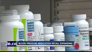 Blood pressure medication recall expands again to include losartan