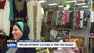 Sharing culture at the West Side Bazaar - Video