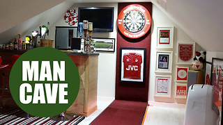 Britain's best man cave - Video