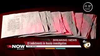 13 Russians indicted for interference in election - Video
