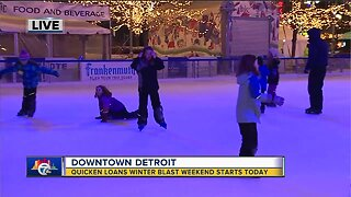 Winter Blast Weekend starts today in downtown Detroit
