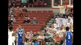 Texas Basketball Player Gets Standing Ovation After Scoring First Point Since Cancer Battle - Video