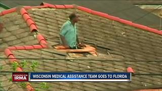 Wisconsin disaster medical assistance team leaves for Irma - Video