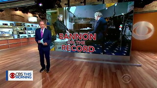 Steve Bannon Interview Trump Access Hollywood tape a litmus test - 60 Minutes - CBS News - Video