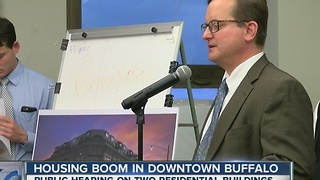 Housing boom in Downtown Buffalo - Video
