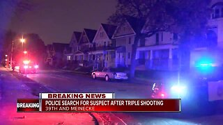 Three people shot inside home on city's north side